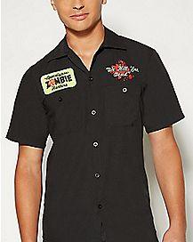 Adult Zombie Hunter Work Shirt Costume