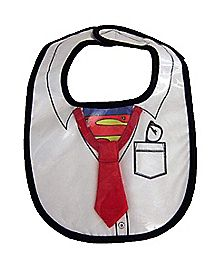Superman Caped Bib Set - DC Comics