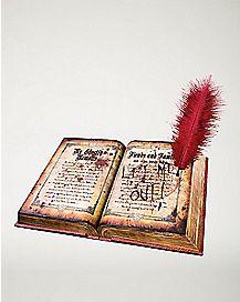10 Inch Ghost Writing Book Animatronics - Decorations
