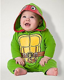 Baby Raphael One Piece Costume - Teenage Mutant Ninja Turtles