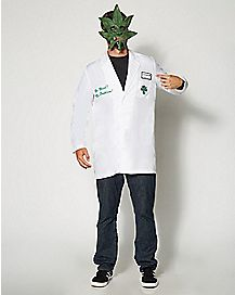 Adult Bud Smoker Lab Coat Costume