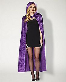 Purple Crush Velvet Cape