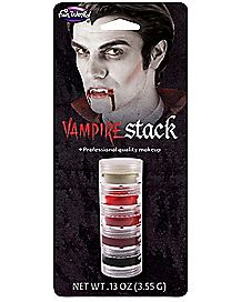 Cream Vampire Makeup