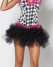 Adult Womens Black Tutu
