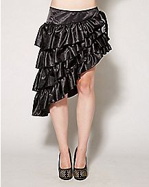 Ruffled Skirt Black