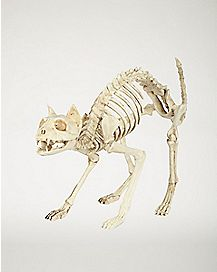 18 in Skeleton Cat - Decorations