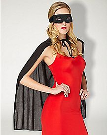Black Superhero Costume Kit