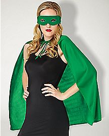 Green Superhero Costume Kit