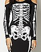 Adult Skelebones Dress Costume