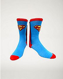 Caped Superman Crew Socks - DC Comics