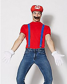 Mario Costume Kit - Mario Bros