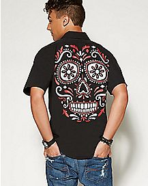 Adult Skull Workshirt