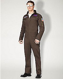 Adult Flight Suit Costume - Top Gun