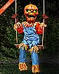 2 Ft Lil Nester Swinging Pumpkin Scarecrow Animatronics - Decorations
