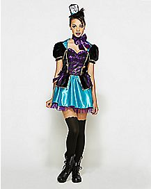 Adult Mad Hatter Dress Costume