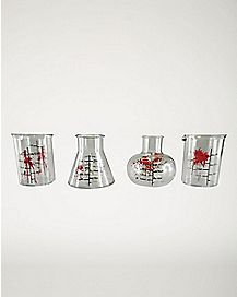 Bloody Chemistry Shot Glass 4 Pack