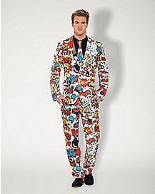 Adult Comic Book Party Suit