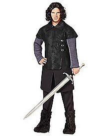 Adult Jon Snow Plus Size Costume - Game of Thrones