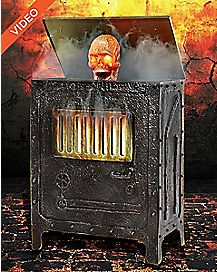 3 Ft Incinerator Animatronics -  Decorations