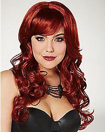 Auburn Bombshell Wig