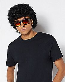 Afro Mullet Wig