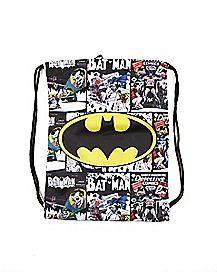 Batman Comic Cinch Bag - DC Comics