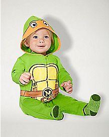Baby One Piece Michelangelo Costume - Teenage Mutant Ninja Turtles