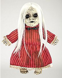 14 Inch Animated Red Rosie Haunted Doll - Decorations