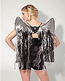 Black Shreddy Fairy Wings