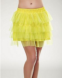 Tutu Skirt - Yellow
