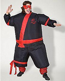 Adult Inflatable Ninja Costume