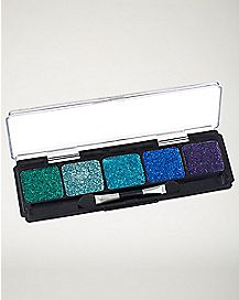 Glitter Blue Cream Makeup Kit