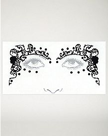 Cameo Face Tattoo Decals