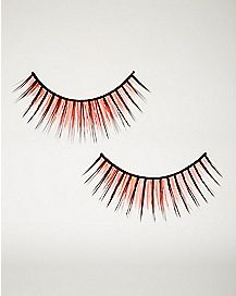 Orange Two Tone False Eyelashes