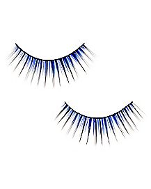 Blue Two Tone False Eyelashes