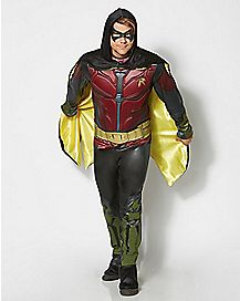 Adult Arkham Knight Robin Costume - DC Comics