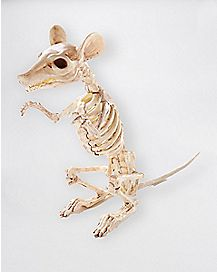 4.5 in Standing Skeleton Rat - Decorations