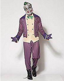 Adult Joker Costume - Batman: Arkham