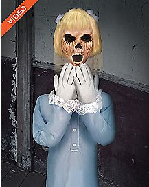 4.5 Ft Peek a Boo Penny  Animatronics - Decorations