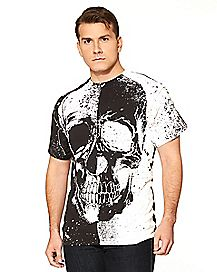 Adult Skull Head T-Shirt