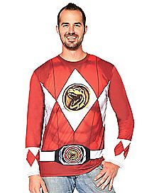 Adult Red Ranger T-Shirt - Power Rangers