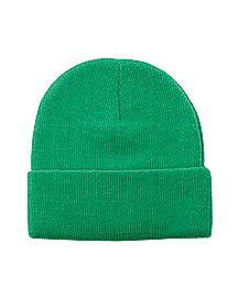 Green Beanie Hat