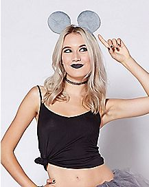 Faux Fur Mouse Ears