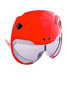 Red Power Ranger Glasses - Power Rangers