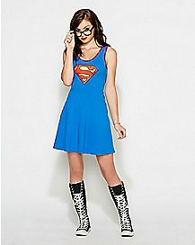 Supergirl Lattice Dress - DC Comics