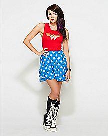 Lace Back DC Comics Wonder Woman Dress