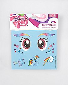 Rainbow Dash Decals - My Little Pony