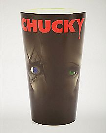Chucky &  Bride Pint Glass 16 oz