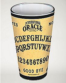 Ouija Pint Glass 16 oz