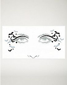 Bat Face Tattoo Decal
